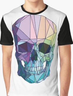 Low-poly geometric skull design Graphic T-Shirt