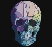 Low-poly geometric skull design by sobakapavlova