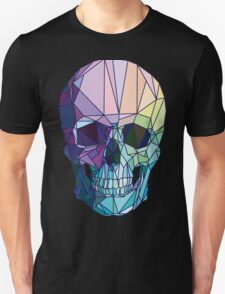 Low-poly geometric skull design Unisex T-Shirt