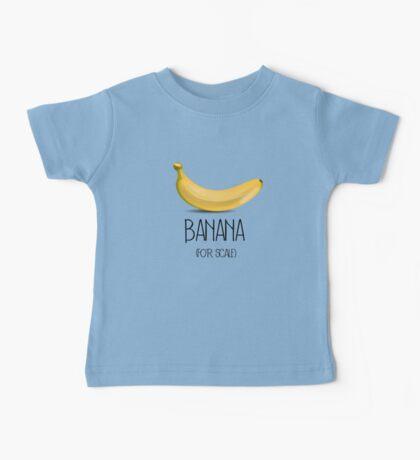 Banana (for scale) Baby Tee