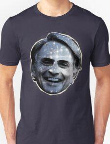 Carl Sagan's Head and You. Unisex T-Shirt