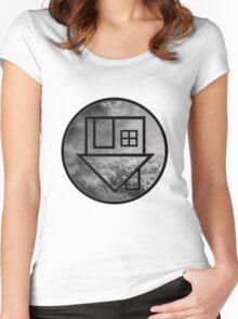 The Neighbourhood Clouds Women's Fitted Scoop T-Shirt