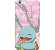 Flower Cutie Squirtle iPhone Case/Skin
