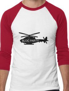 Bloc Party Helicopter Men's Baseball ¾ T-Shirt