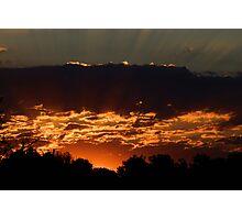 Olathe Sunrise Photographic Print