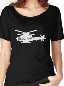 Bloc Party Helicopter Women's Relaxed Fit T-Shirt