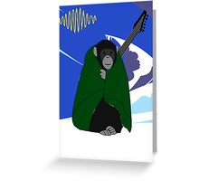 Arctic Monkey Greeting Card