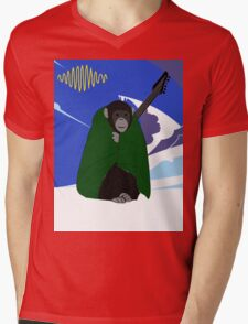 Arctic Monkey Mens V-Neck T-Shirt