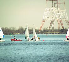 Annapolis Sailing by Kenneth Graham