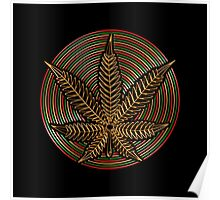 Cannabis Gold Poster