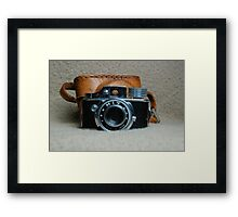 Vintage HIT Camera Framed Print