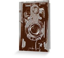 Vintage Kodak Greeting Card