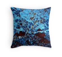 Moon Light Garden Abstract Throw Pillow