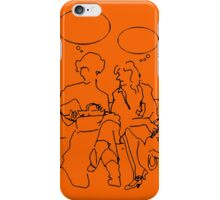 Ladies pausing iPhone Case/Skin
