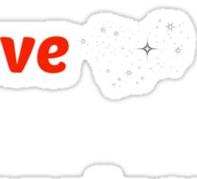 Peace Love Happiness Sticker