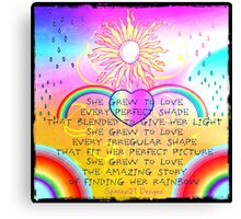Making Rainbows Canvas Print