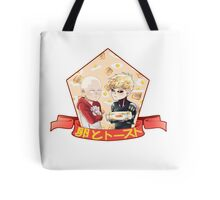 Egg and Toaster Tote Bag