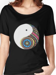 Ying Yang Women's Relaxed Fit T-Shirt