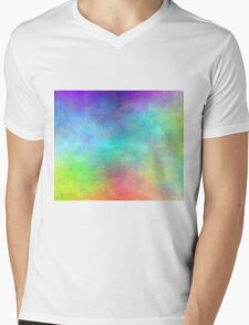 Pastels Mens V-Neck T-Shirt