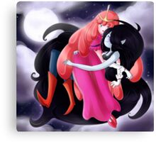 PB and Marceline Canvas Print