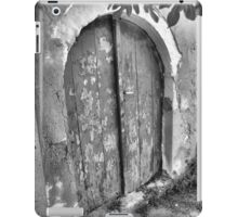 Old, Old Arch & Door iPad Case/Skin