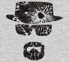 Heisenberg (Gunshot - Black) Kids Tee