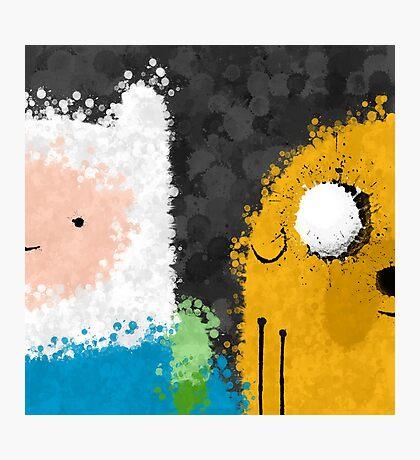 Homies Help Homies Photographic Print