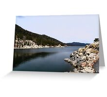 Big Bear Lake Greeting Card