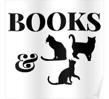 Books & Cats (2) Poster