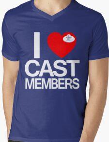 I Heart Cast Members (Orlando) Mens V-Neck T-Shirt