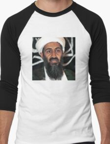osama bun laden edgy shirt Men's Baseball ¾ T-Shirt