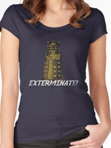 vintage dalek  Women's Fitted Scoop T-Shirt