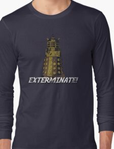 vintage dalek  Long Sleeve T-Shirt