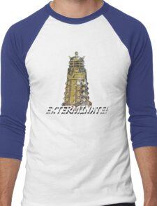 vintage dalek  Men's Baseball ¾ T-Shirt
