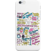 Heartache On the Big Screen iPhone Case/Skin