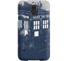 splatter tardis Samsung Galaxy Case/Skin