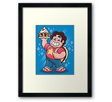 Breakfast Boy Framed Print