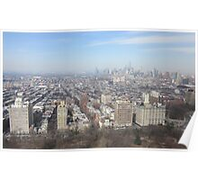 Park Slope -Brooklyn Aerial Photography Poster