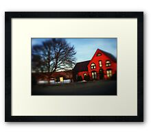 A Community Center Framed Print