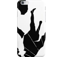 falling broken man iPhone Case/Skin