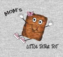 Mom's Little Tater Tot Girl One Piece - Long Sleeve