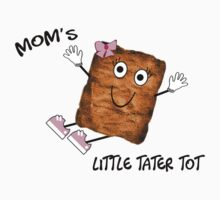 Mom's Little Tater Tot Girl Baby Tee