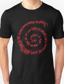 Shadow of Death (Spiral of the Grim Reaper) T-Shirt