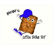 Mom's Little Tater Tot Boy Art Print