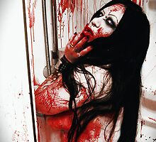 Bloody shower by Raven Sparks