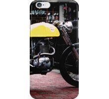 Cafe Racer on the Bridge iPhone Case/Skin