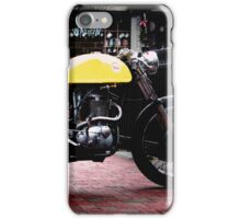 Cafe Racer on the Bridge iPhone Case/Skin