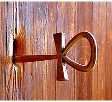 Ankh - the key of life  Photographic Print