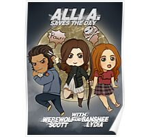 Alli A. Saves the day Poster