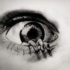 Hand crawling out of Eye by MadVonD